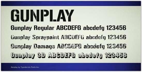 gunplay_by_typodermic_fonts