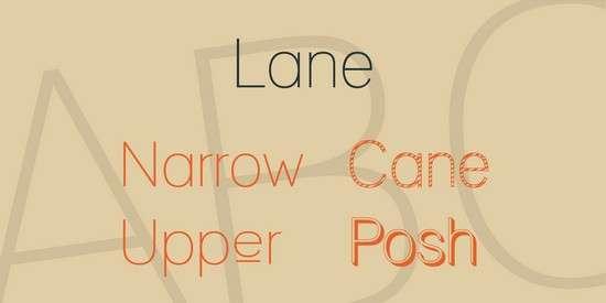 lane_font_family