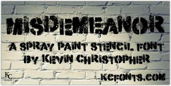 .misdemeanor_font_by_kc_fonts