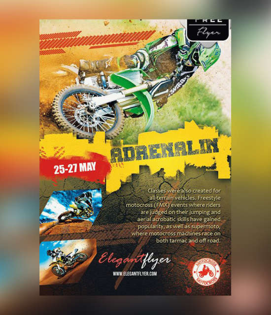 motor_bike_free_psd_flyer_template