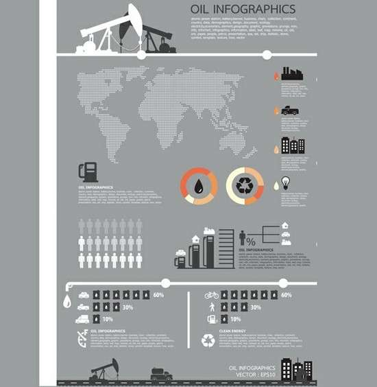oil_theme_business_infographics_vector_chart