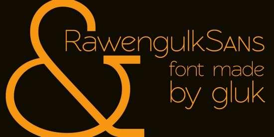 rawengulk_sans_font