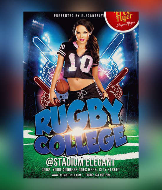 rugby_game_psd_free_flyer