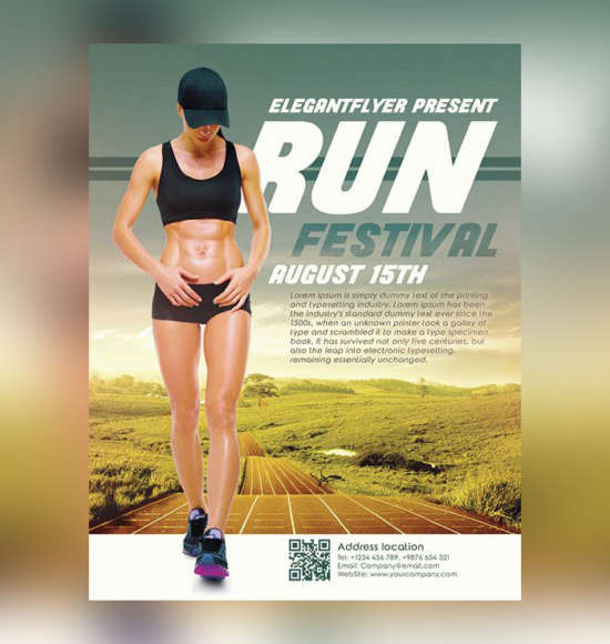 run_festival_free_flyer_template