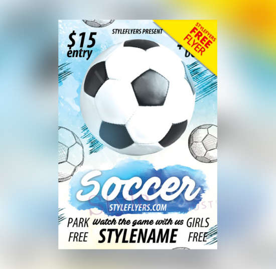 soccer_game_sports_free_flyer_psd