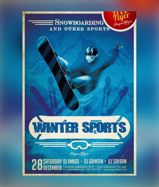 winter_sports_free_psd_flyer_psd