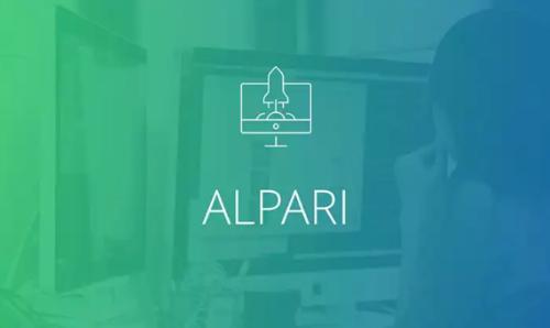 Alpari Keynote minimalist template