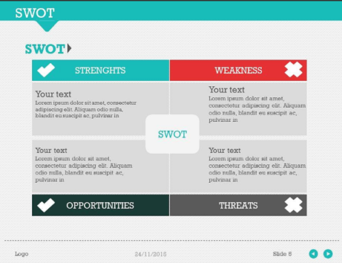 SWOT Pack 1 PowerPoint Template