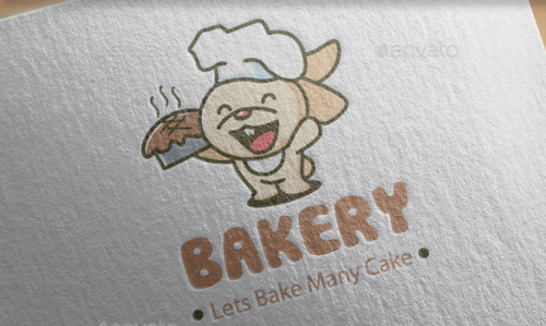 Full Vector Bakery Logo Template