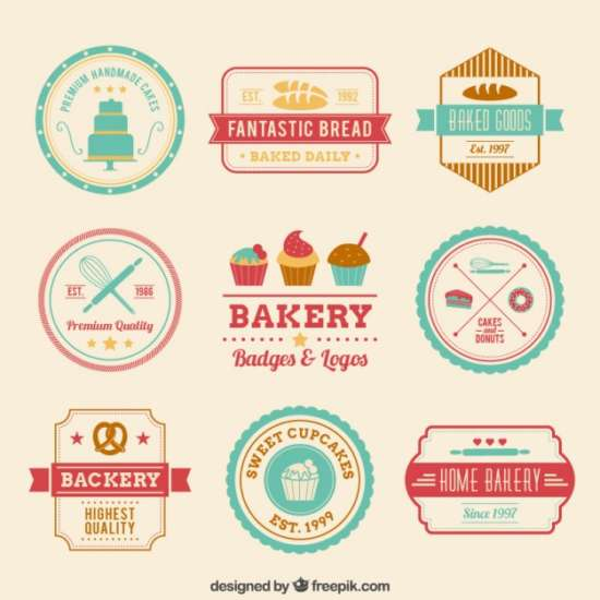 retro_bakery_badges