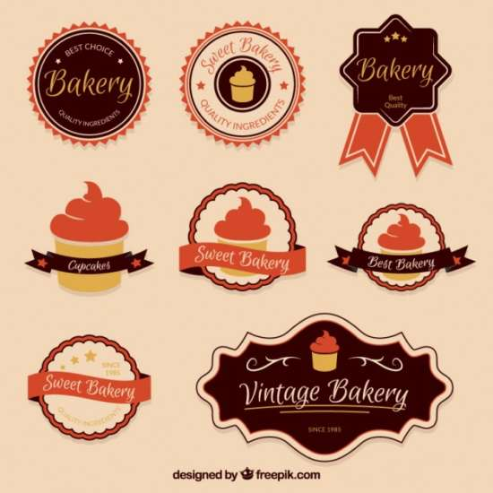 vintage_bakery_badges_collection