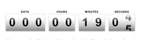Page Expiration Countdown Timer Robot