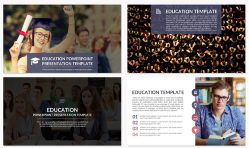 Professional Education Google slides Presentation Template