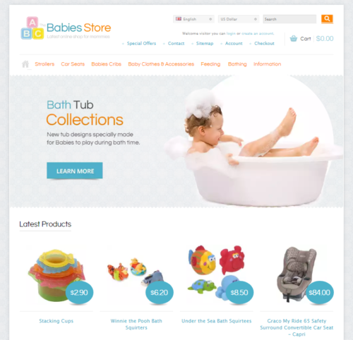 responsive_baby_apparel_template