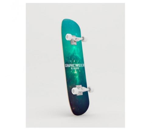 skateboard_realistic_mock_up