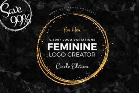 feminine_logo_creator_circle