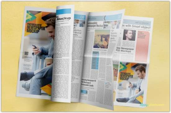 amazing_newspaper_advertising_mockups_volume_5