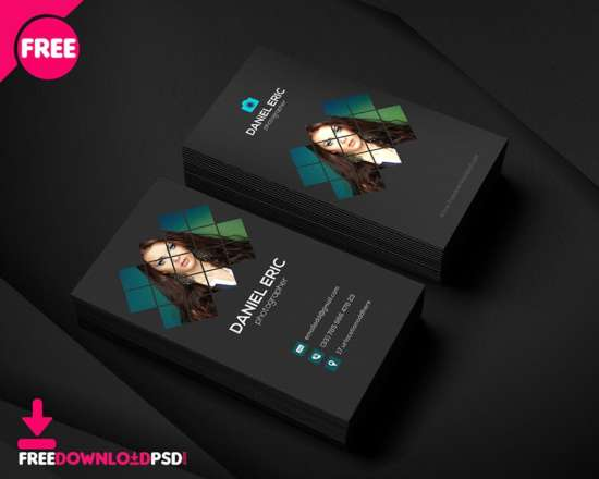 photographer_business_card_template