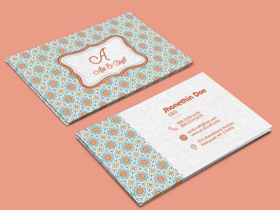 free_vintage_business_card_template