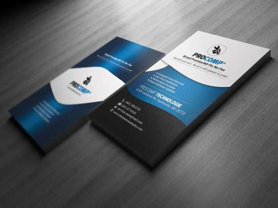 free_service_business_card_template