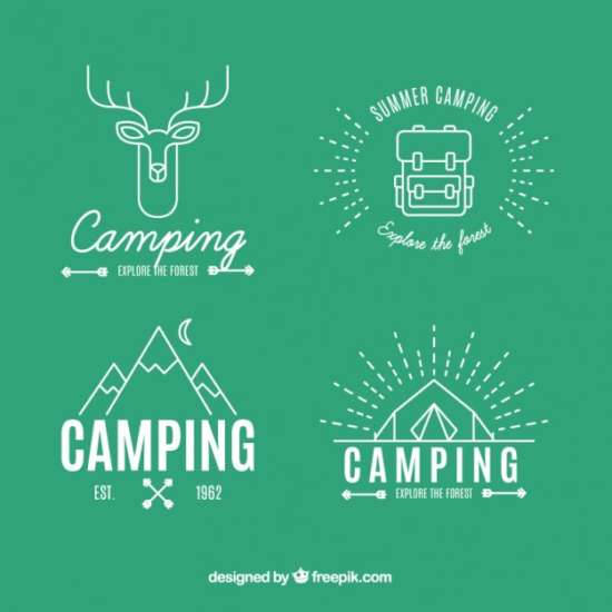 adventure_logos_in_linear_style