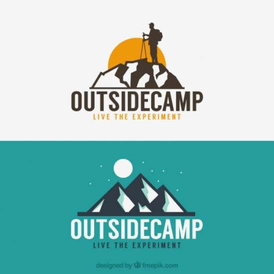 adventure_logos_with_mountains