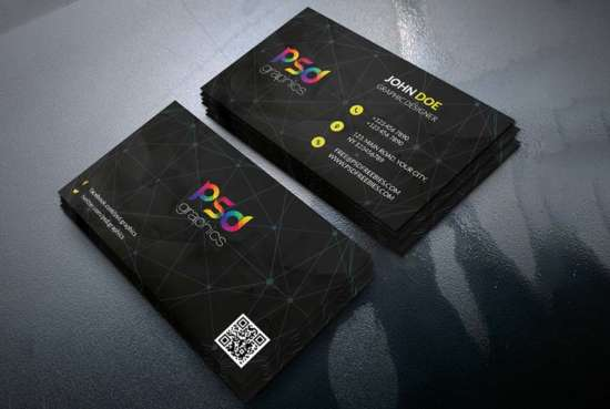 black_business_card_template_free