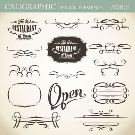 calligraphic_design_elements