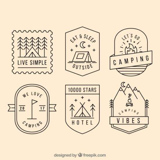 camping_logo_collection