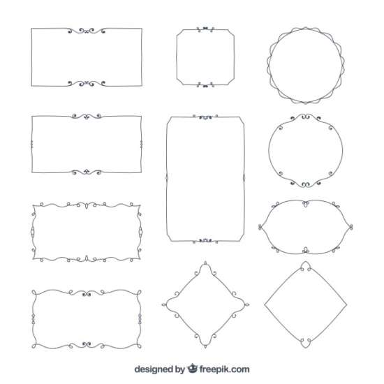 elegant_ornamental_borders_set