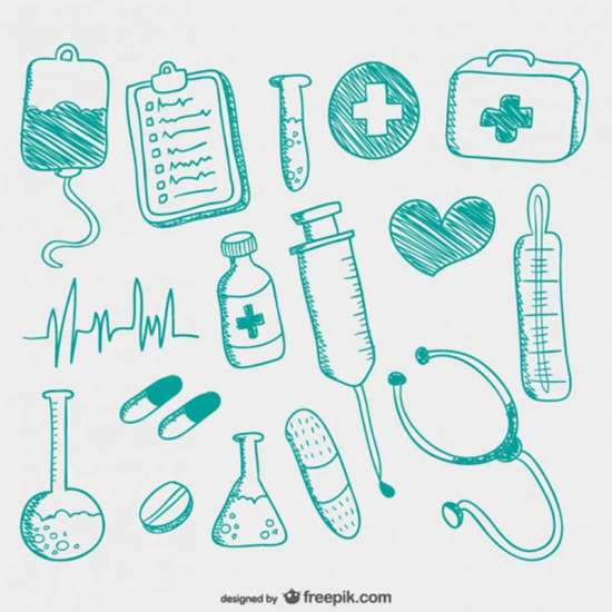 hand_drawn_medical_icons