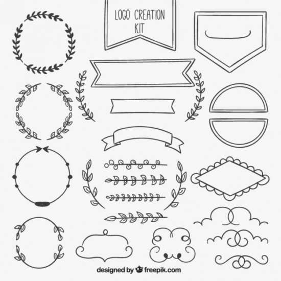 hand_drawn_ornamental_element_collection