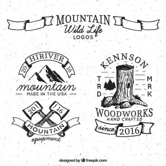 hand_drawn_wild_life_logos