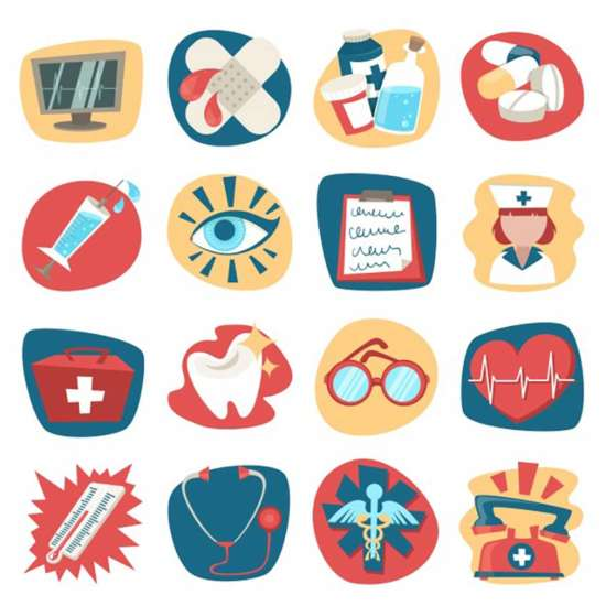 hospital_medical_health_care_icons_set