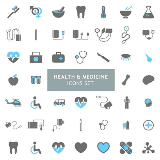 icons_set_about_health_and_medicine
