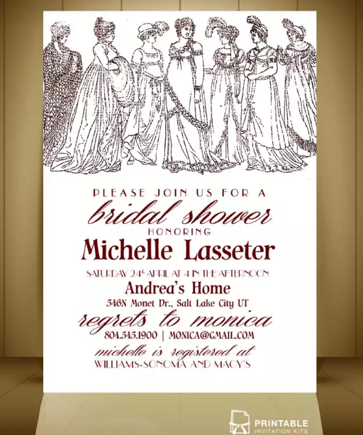 vintage_ladies_bridal_shower_invitation