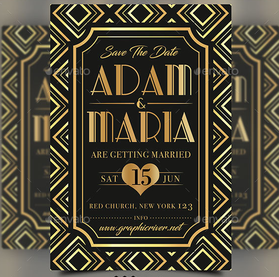 art_deco_wedding_invitation