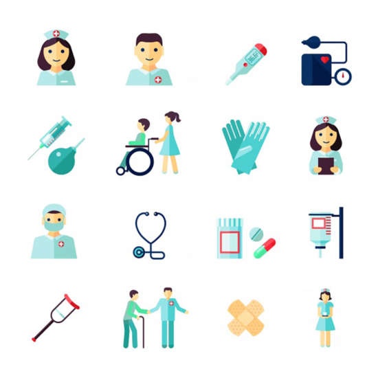 medical_icons_collection