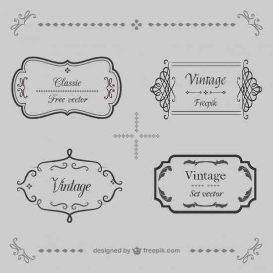 ornamental_vintage_frames