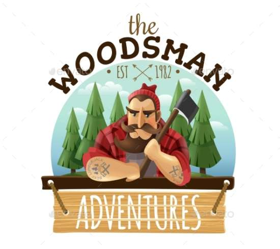 lumberjack_woodsman_adventures_logo_icon