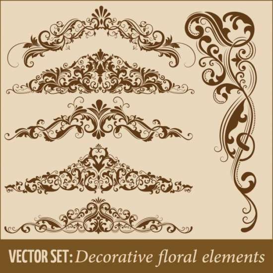 set_of_hand_drawn_decorative_vector_floral_elements_for_design._page_decoration_element.