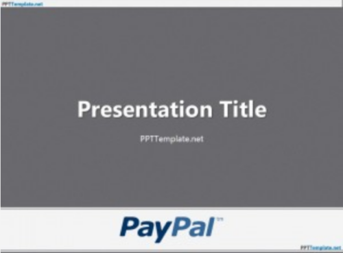 free_pay_pal_with_logo_ppt_template