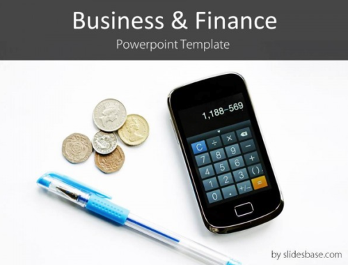 blue_pen_finance_powerpoint_template