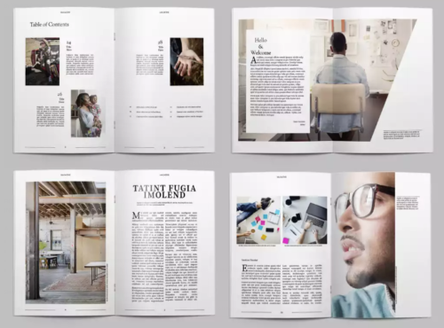 Magazine Design Layout Free