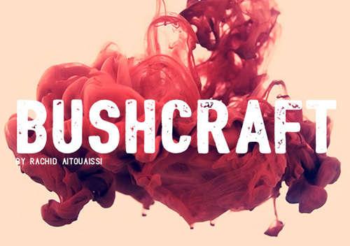 bushcraft_condensed_font