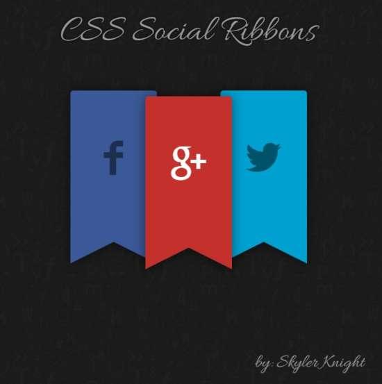 css_social_ribbons