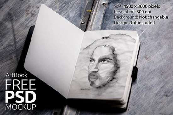 free_art_book_photorealistic_mockup