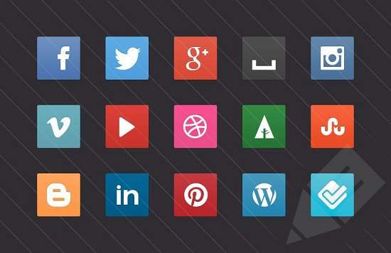 free_css3_social_media_buttons