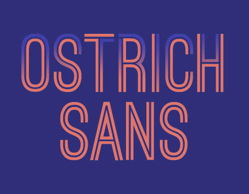 ostrich_sans_condensed_font