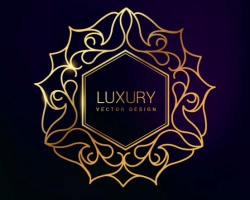 premium_golden_floral_luxury_symbol_design